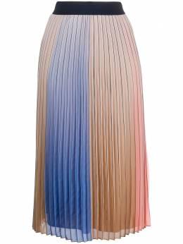 Steffen Schraut плиссированная юбка в стиле колор-блок 19114652