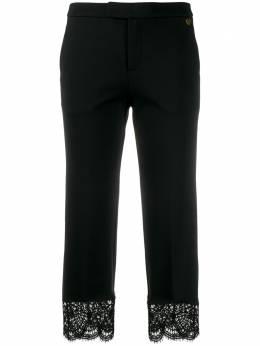 Twin-Set брюки с кружевными краями 201TP2123