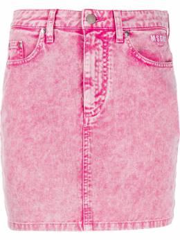 MSGM джинсовая юбка мини 2841MDD52T207272