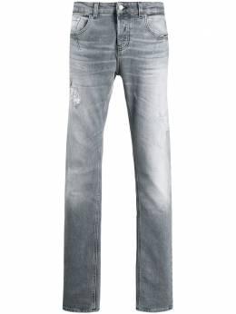 Les Hommes Urban джинсы с эффектом потертости UXD320554U