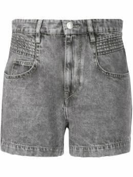 Isabel Marant Etoile шорты из вареного денима SH028720P017E