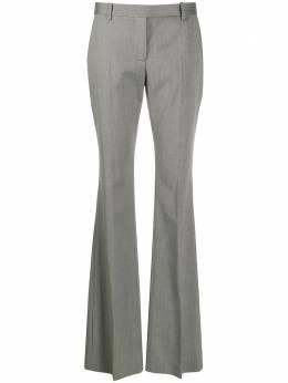 Alexander McQueen расклешенные брюки с узором в елочку 585076QJABB