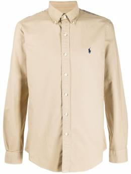Polo Ralph Lauren рубашка на пуговицах с вышитым логотипом 710794351008