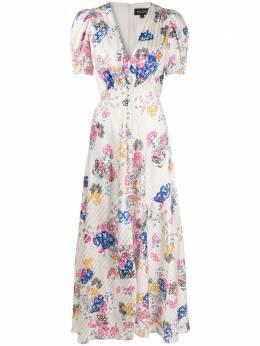 Saloni платье с цветочным принтом 17641050154952
