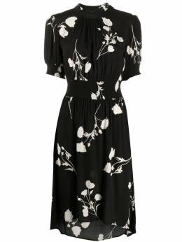 Ba&sh платье миди Poppy с цветочным принтом 1E20POPP