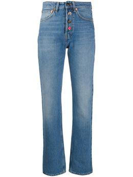 Semicouture джинсы прямого кроя с завышенной талией Y0SY01