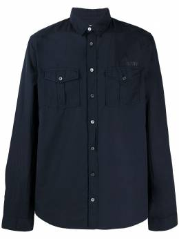 Zadig & Voltaire рубашка с жатым эффектом SJCF0503H