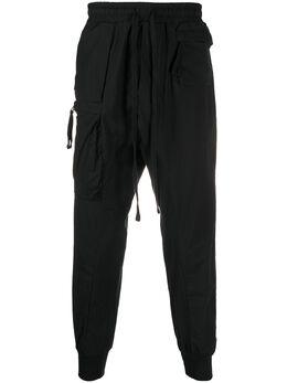 Thom Krom спортивные брюки с низким шаговым швом MST18301