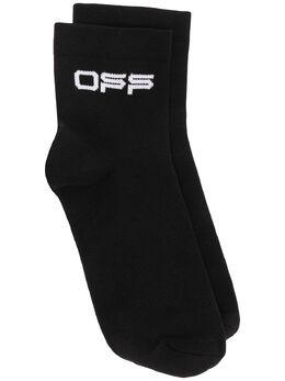 Off-White носки с логотипом OWRA018R209710871001