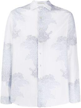 Etro рубашка с принтом пейсли 1K0944797