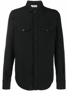 Saint Laurent рубашка Slim Western 601892Y544V