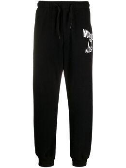 Moschino спортивные брюки с логотипом A03450230