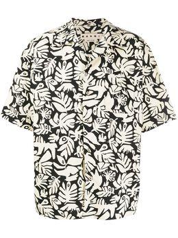 Marni рубашка с короткими рукавами и принтом CUMU0054A0S52608