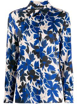 Boutique Moschino блузка с цветочным принтом J02161152