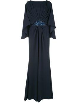 Tadashi Shoji декорированное вечернее платье BOS20162LB