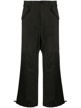Moschino брюки карго с логотипом J03360220