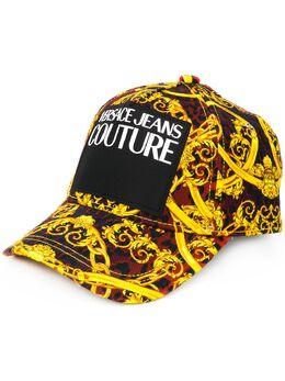 Versace Jeans Couture бейсбольная кепка с леопардовым принтом E8HVAK05S0653537
