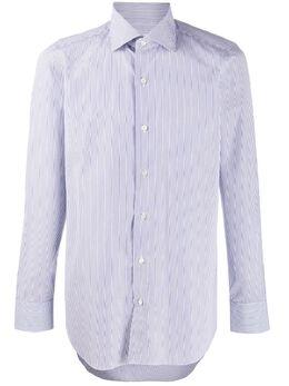 Finamore 1925 Napoli полосатая рубашка с длинными рукавами MLLIPSZL040007C0028