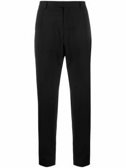 Z Zegna строгие брюки прямого кроя 7FN3C27ZF018