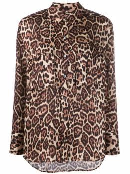 Equipment рубашка с длинными рукавами и леопардовым принтом 195006210TP03406