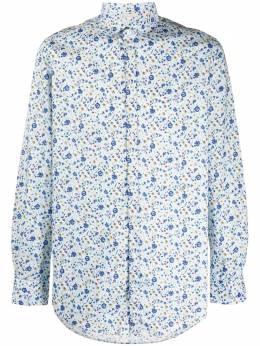 Massimo Alba рубашка с цветочным принтом CANARYT4286