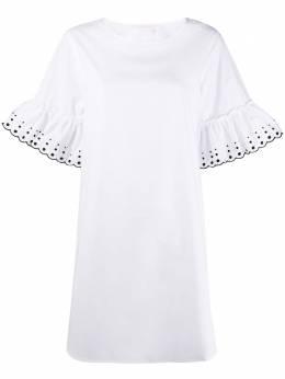 See By Chloe платье мини с вышивкой CHS20SRO24029