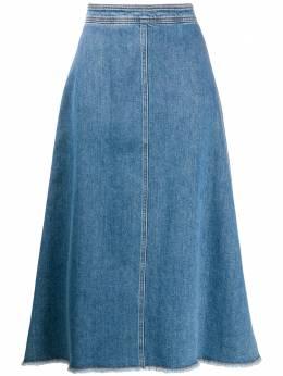 Philosophy Di Lorenzo Serafini джинсовая юбка А-силуэта A0111730