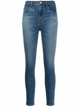 J Brand джинсы скинни с завышенной талией JB002713