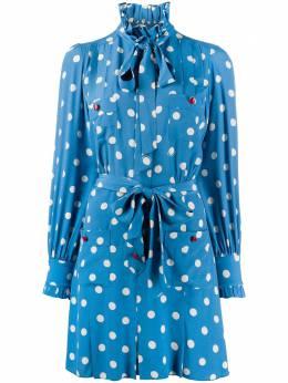 Marc Jacobs платье-рубашка в горох V5000032420