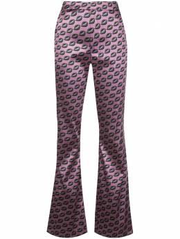 Cynthia Rowley расклешенные брюки Breslin 20R1PT02BR