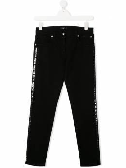 Balmain Kids джинсы скинни средней посадки 6M6130MD900