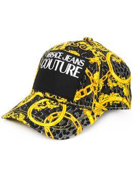 Versace Jeans Couture бейсбольная кепка с леопардовым принтом E8HVAK05S0653899
