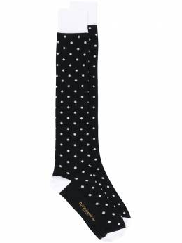 Dolce&Gabbana носки в горох GC126AG1JDR