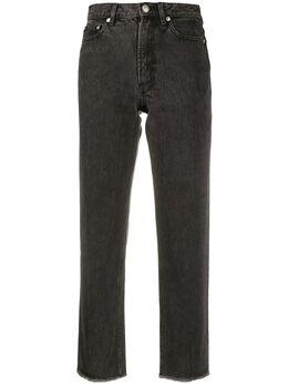 A.P.C. укороченные джинсы с завышенной талией COEFKF09128