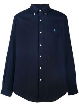 Ralph Lauren рубашка с вышитым логотипом 710795245