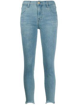 J Brand джинсы скинни с завышенной талией JB001491A