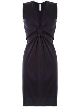 Dion Lee платье из джерси с узлом A9649R20