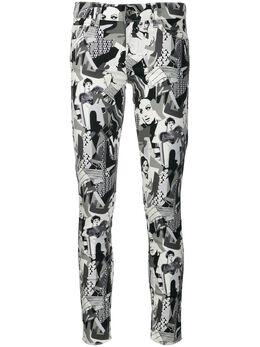Liu Jo джинсы скинни со сплошным принтом WA0186T4047
