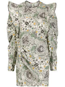 Isabel Marant Etoile платье Catarina с оборками RO158320P024E
