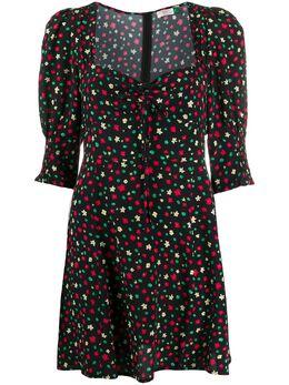Rixo платье мини Larissa с цветочным принтом RIX10426120656008LARISSA