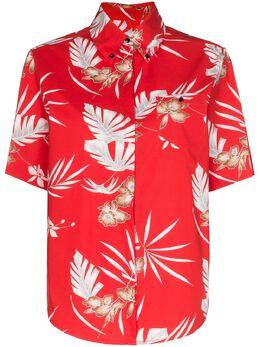 Paco Rabanne гавайская рубашка с цветочным принтом 20PCCE017CO0338
