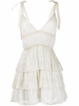 Wandering ярусное платье WGS20433