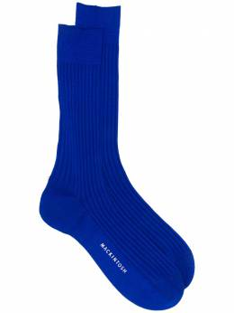 Mackintosh носки в рубчик SO0001