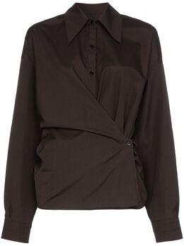 Lemaire рубашка с драпировкой W201SH254LF353