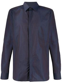 Ermenegildo Zegna рубашка с заостренным воротником 7013579YC0CA