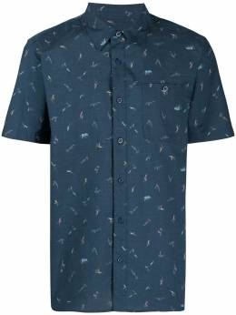 Patagonia рубашка с принтом 52691