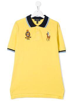 Ralph Lauren Kids рубашка-поло с вышитыми логотипом 786337003