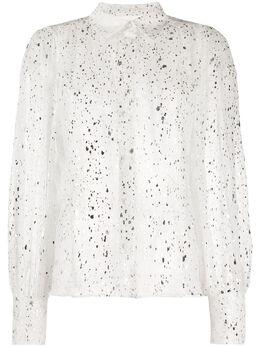 MSGM рубашка с блестками 2841MDE12207116