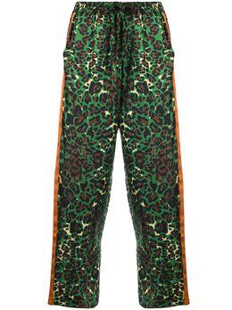Pierre-louis Mascia брюки Adanastr с леопардовым принтом PT10264