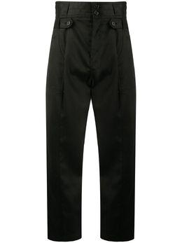 Nili Lotan укороченные брюки с завышенной талией 10640W640